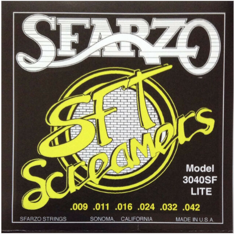 Sfarzo - SFT Screamer - Electric Guitar Strings - 9-42