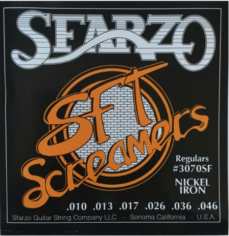 Sfarzo - SFT Screamer - Electric Guitar Strings - 10-46