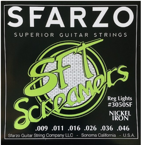 Sfarzo - SFT Screamer - Electric Guitar Strings - 9-46