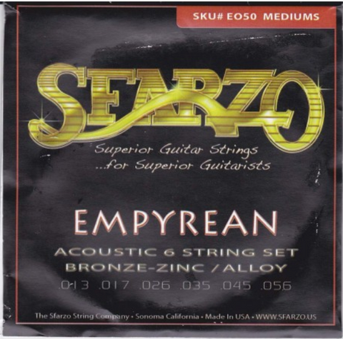 Sfarzo - Empyrean - Acoustic Guitar Strings - 13-56