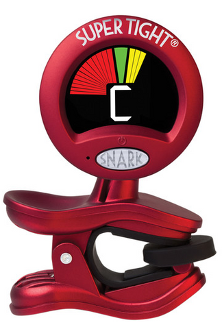 Snark - ST2 - Clip-On Tuner for Guitar, Bass & Violin and more - Mic and Vibration Tuning + Calibration