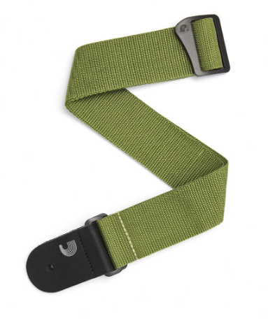 D'addario - Basic Strap - Green