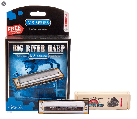Hohner - Big River Harmonica - Bb