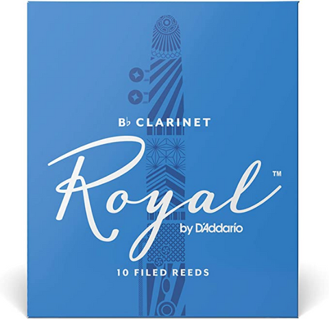 Royal Clarinet Reeds - Bb - Singles (4.0)