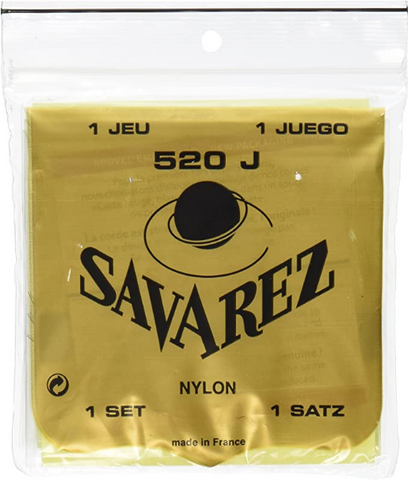 Savarez - Classical Guitar Strings -520J - Super High tension