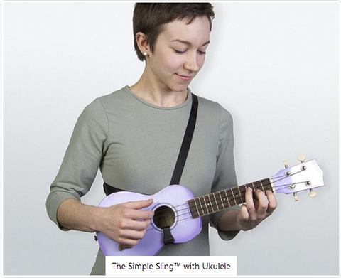 Simple Sling - Ukulele/Mandolin/Classical Strap