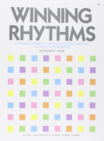 Winning Rhythms - All Instruments (Book)