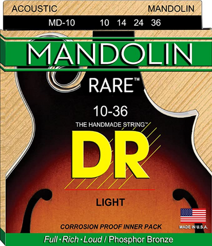 DR - Rare - Mandolin Light - 10-36 Strings