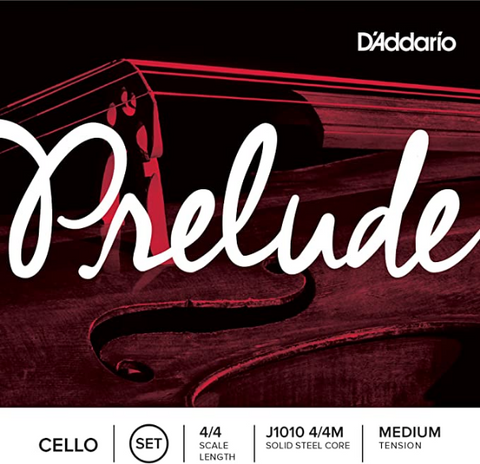 D'Addario - Prelude Cello String Set - J1010 4/4M