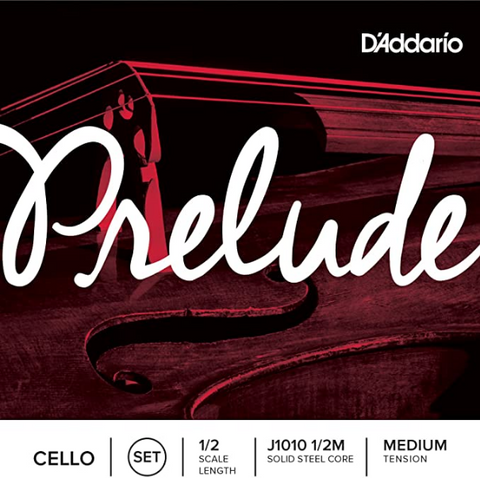 D'Addario - Prelude Cello String Set - J1010 1/2M