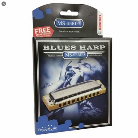 Hohner - Blues Harp Harmonica - Bb