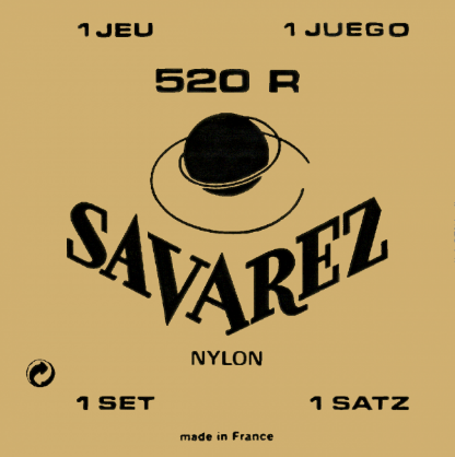 Savarez - Classical Guitar Strings - 520R - High tension