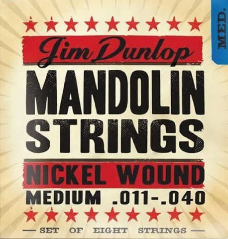 Jim Dunlop - Mandolin Strings - Phosphor Bronze - Medium