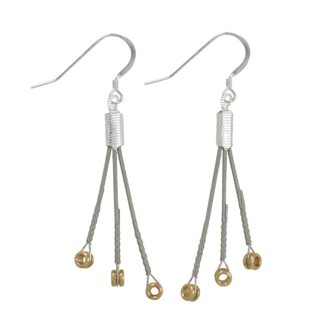 Ball End Burst Earrings