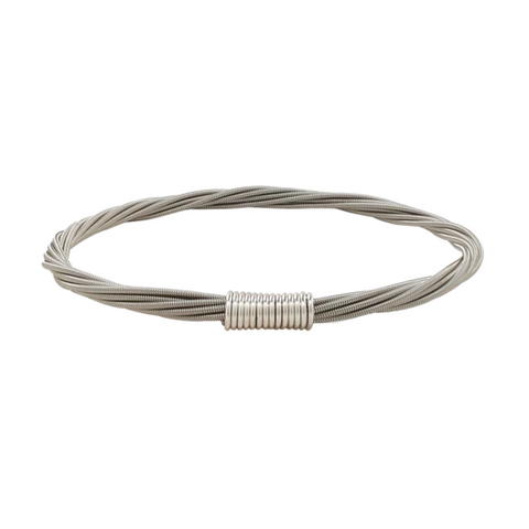 Classic Bangle - Silver - Medium