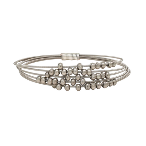 Fidget Bangle - Silver - Medium