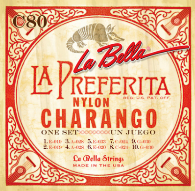 LaBella - Charango Strings - C-80