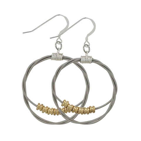 Song Circle Ball End Earring