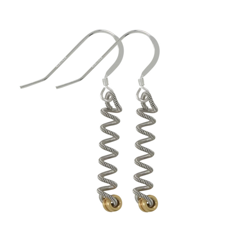 Unwound Earring - Ball End - Small