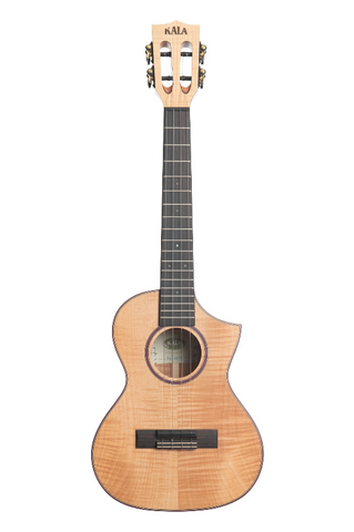 Kala - KA-ASFM-T-C - Solid Flame Maple - Tenor w/ Cutaway