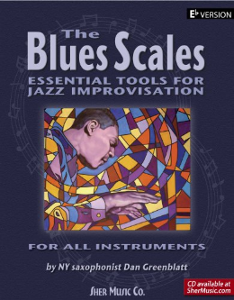 The Blues Scales Eb Version (Book)