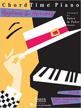 F & F - Chordtime Piano Ragtime & Marches Level 2b (Book)