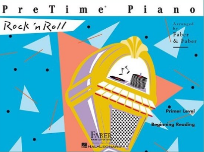 F & F - PreTime Piano - Rock 'n Roll - Primer (Book)