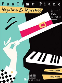 F & F - Funtime - Ragtime & Marches - Level 3a-3b (Book)