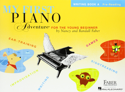 F & F - My First Piano Adventure - Writing Book A