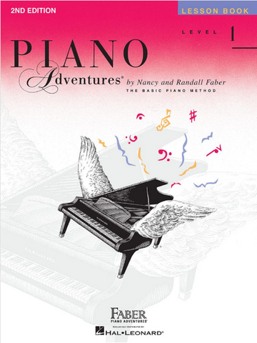 F & F - Piano Adventures - Lesson Book - Level 1