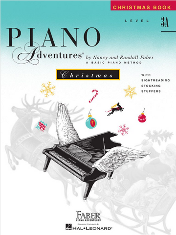 F & F - Piano Adventures - Christmas - Level 3A (Book)