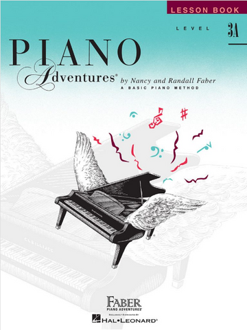 F & F - Piano Adventures - Lesson Book - Level 3A