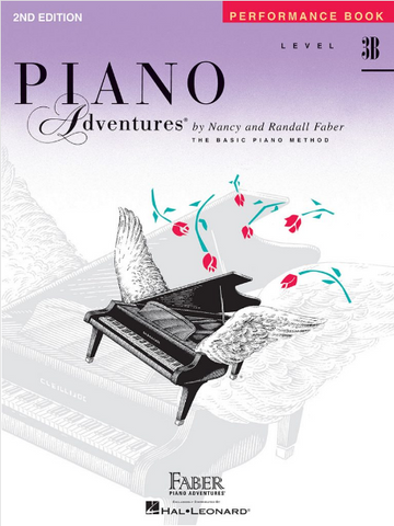 F & F - Piano Adventures - Performance Book - Level 3B
