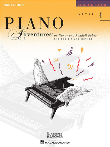 F & F - Piano Adventures - Lesson Book - Level 4