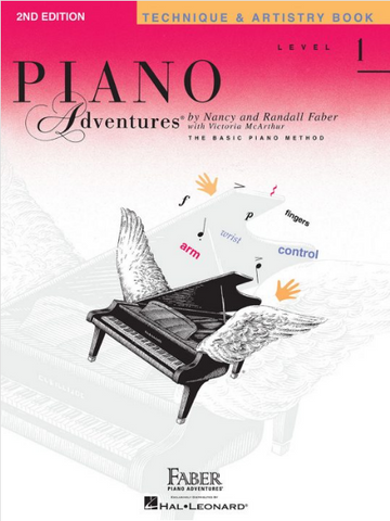 F & F - Piano Adventures - Technique & Artistry Book - Level 1