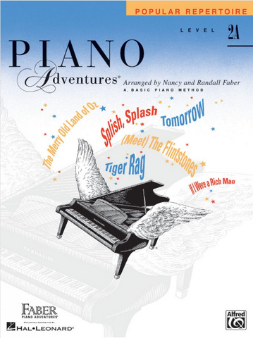 F & F - Piano Adventures - Popular Repertoire - Level 2A (Book)