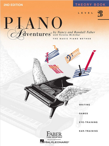 F & F - Piano Adventures - Theory Book - Level 2B
