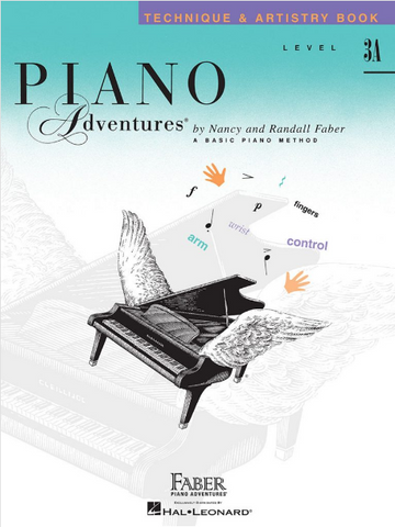 F & F - Piano Adventures - Technique & Artistry Book - Level 3A