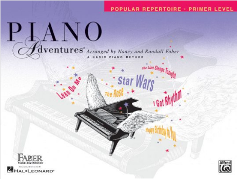 F & F - Piano Adventures - Popular Repertoire - Primer Level (Book)