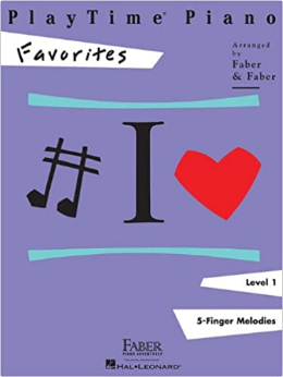 F & F - Playtime Piano Favorites - Level 1 (Book)