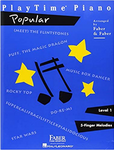 F & F - Playtime Piano - Level 1: Popular (Book)