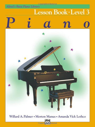 Alfred's Basic Piano Course: Lesson Book - Level 3 (Book)