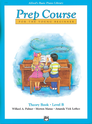 Alfred's Basic Piano Library: Prep Course Theory Level  B (Book)