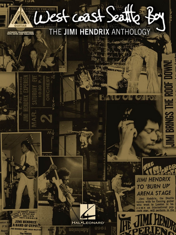 Jimi Hendrix - Selections From Seattle Bay - Anthology - Guitar Tab (Book)