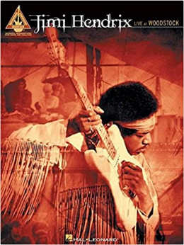 Jimmy Hendrix - Live At Woodstock (Book)