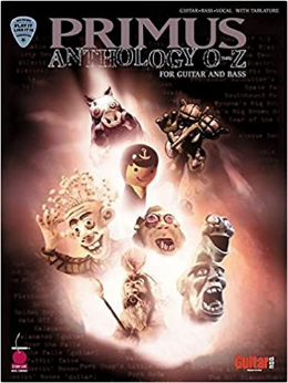 Primus Anthology - O Thru Z (Book)