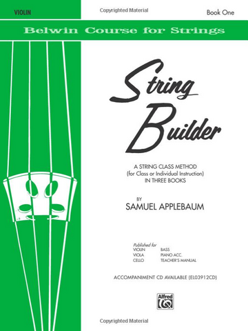 String Builder - Violin - Book 1 (Belwin Course for Strings)