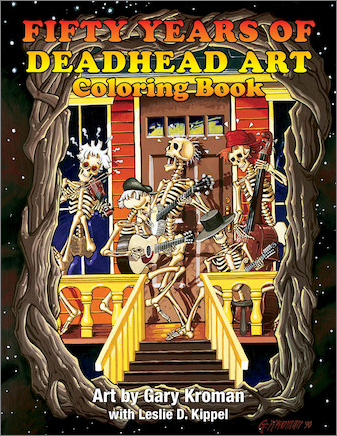 Grateful Dead - Pin Art Coloring Book - 50 Years Edition (Book)