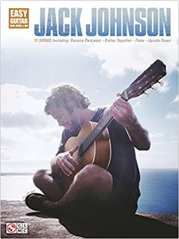 Jack Johnson Easy Guitar with Notes & Tab (Book)