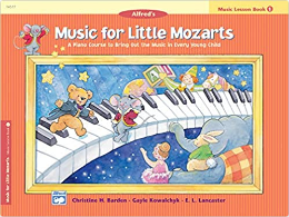 Music For Little Mozarts: Lesson - Book 1 (Book)